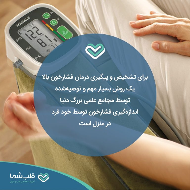 اندازهگیری فشار خون توسط خود فرد در منزل
